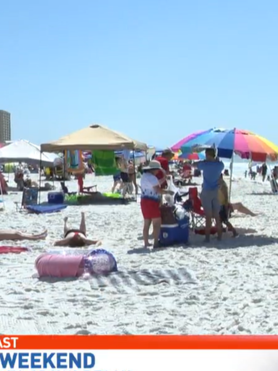 Memorial Day Weekend On Pensacola Beach