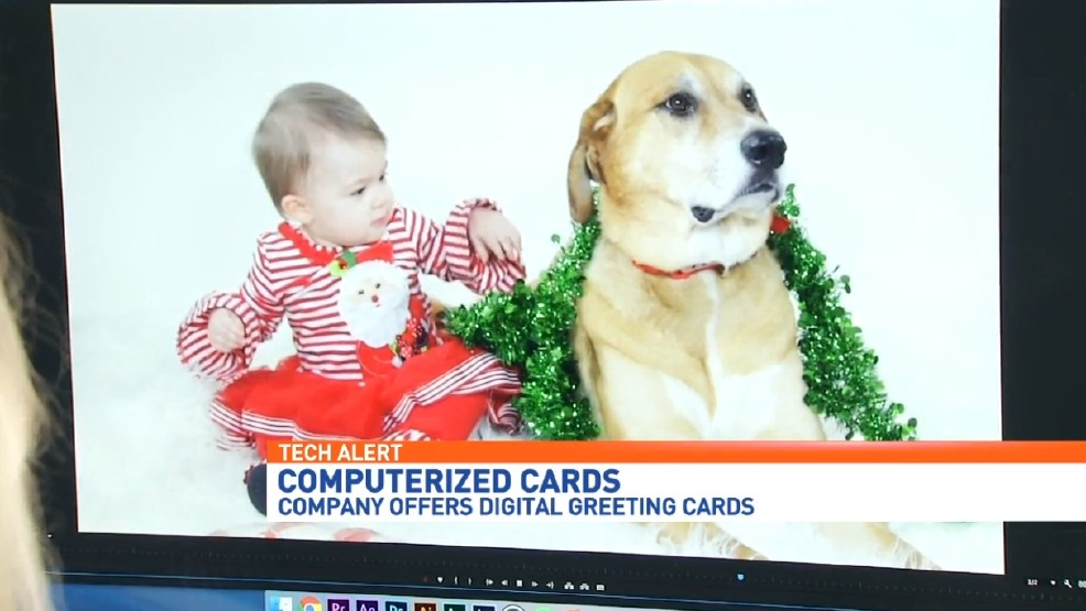 Spice up your family Christmas card with computerized cards | WEAR