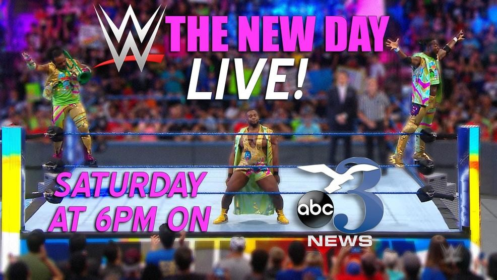 Watch Channel 3 live from Saturday's WWE show | WEAR