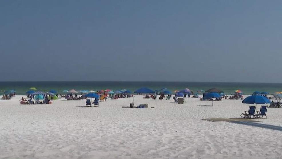 Pensacola Beach Businesses Hopeful Peak
