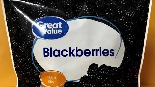 Frozen blackberries and mixed fruit recalled due to risks of